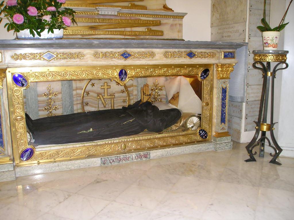 Cercueil catherine Labouré
